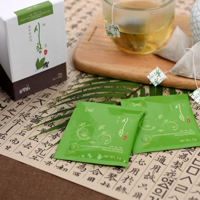 제주 본황칠 시황 차(茶)