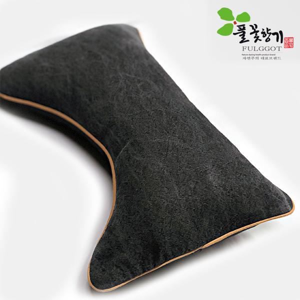 풀꽃향기 천연염색 베개