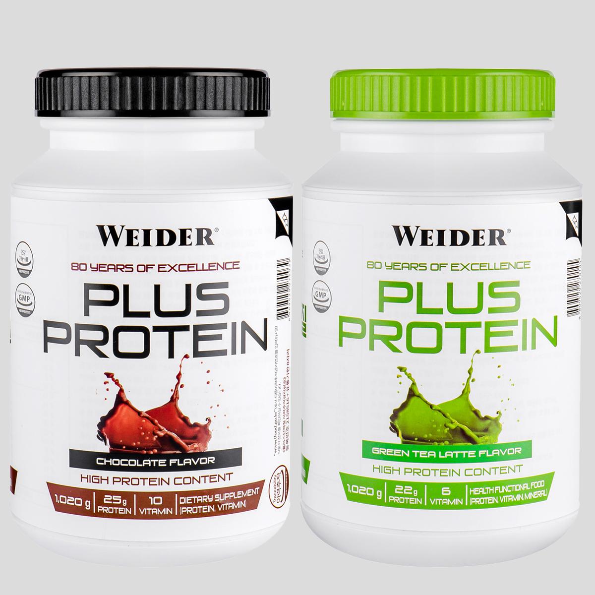 웨이더 플러스 단백질